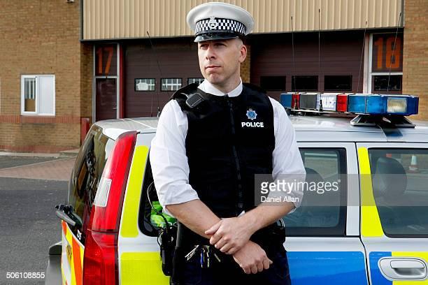 Potrait of policeman