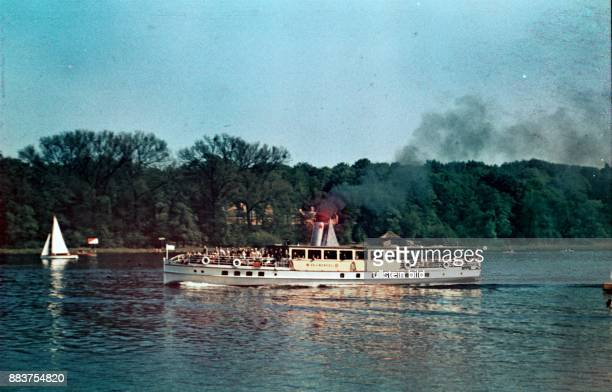 Potsdam excursion boat at the Havel river