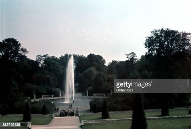 Potsdam Park Sanssouci Great Fountain