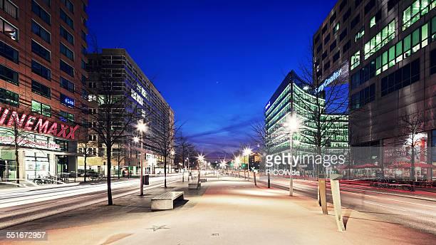 Potsdamer Platz at sunset