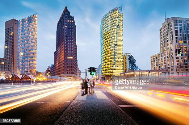 potsdamer platz, berlin, germany - potsdamer platz stock pictures, royalty-free photos & images