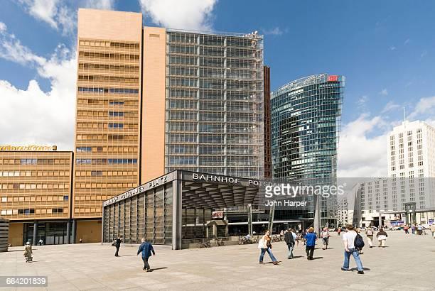 Potsdamer Platz, Berlin Germany