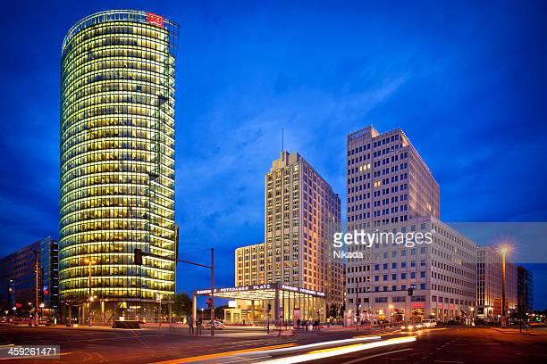 potsdamer platz, berlin - potsdamer platz stock pictures, royalty-free photos & images
