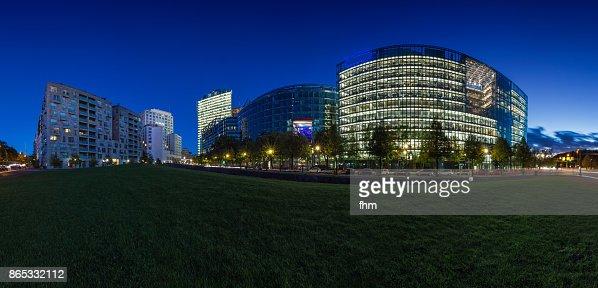 Potsdamer Platz Berlin - Skyline Panorama