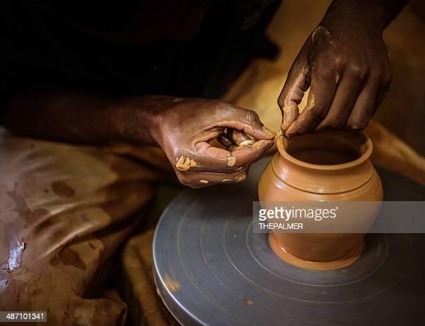 Potter Hands