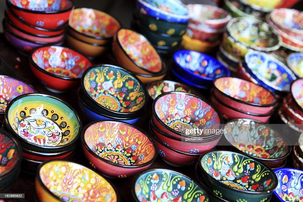 pottery art : Stock Photo