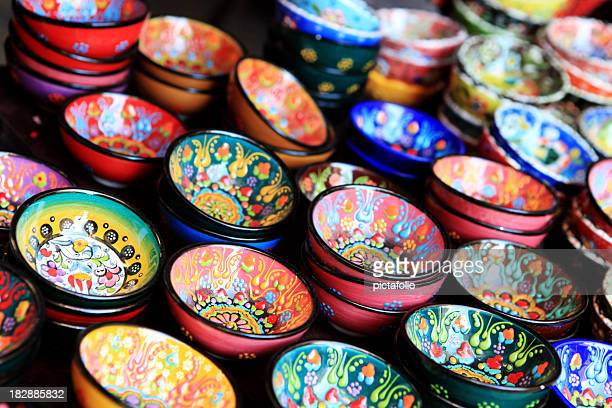 pottery art - north africa stock photos and pictures