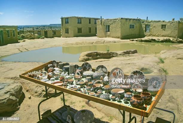 Pottery At Acoma Pueblo