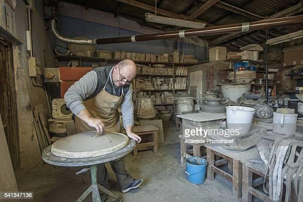 pottery atelier - san miniato stock pictures, royalty-free photos & images