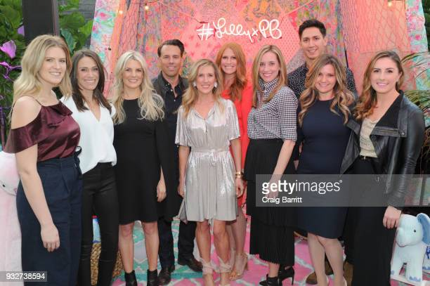 Pottery Barn Brands team attends the Launch Celebration of the Pottery Barn Pottery Barn Kids PBteen and Lilly Pulitzer Exclusive Collection on March...