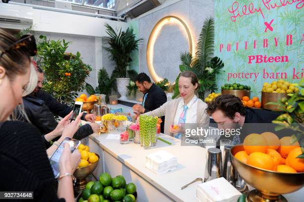 Pottery Barn Pottery Barn Kids PBteen and Lilly Pulitzer Celebrate the Launch of their Exclusive Collection on March 15 2018 in New York City