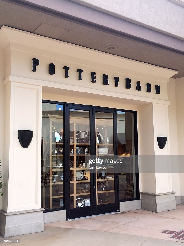 Pottery Barn storefront sign News Photo - Getty Images