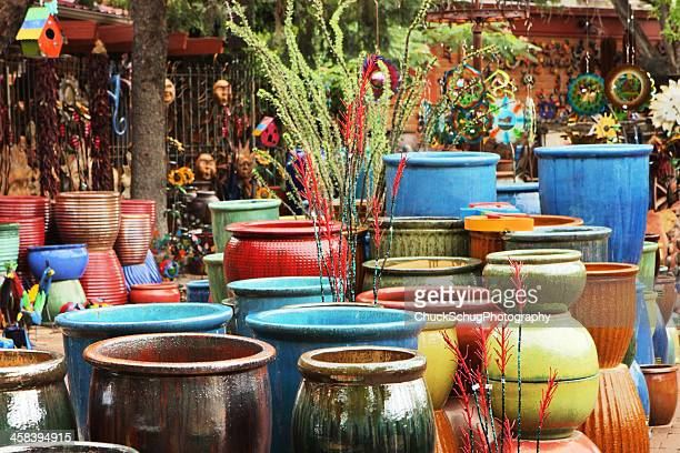 pottery boutique garden center store merchandise - sells arizona stock pictures, royalty-free photos & images