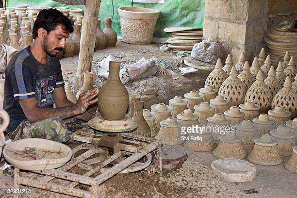 Pottery in the Indian subcontinent has an ancient history and is one of the most tangible and iconic elements of regional art. Evidence of pottery...