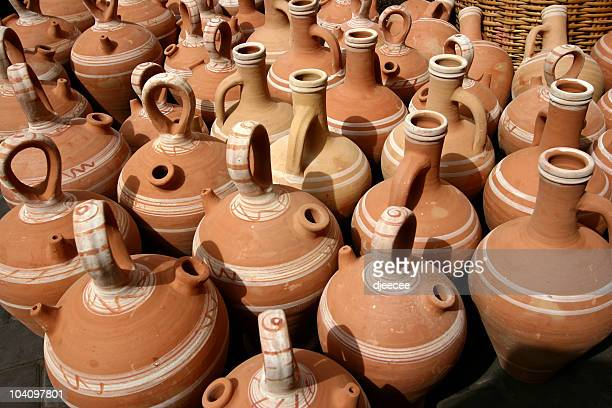 Poterie pot sur Marrakech souk