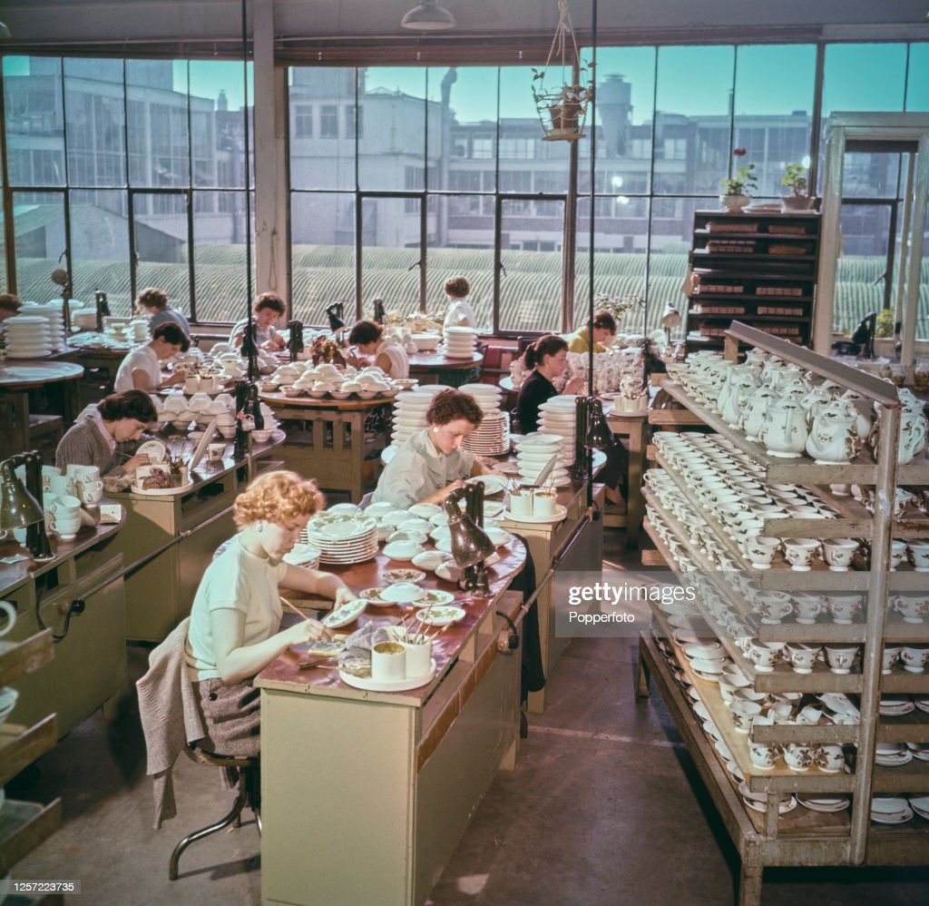 Wedgwood Factory : News Photo