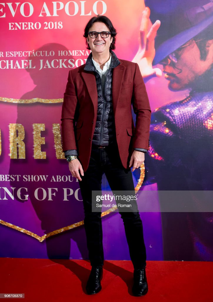 Poty Castillo attends the 'Forever Jackson' Madrid Premiere on January 18, 2018 in Madrid, Spain.