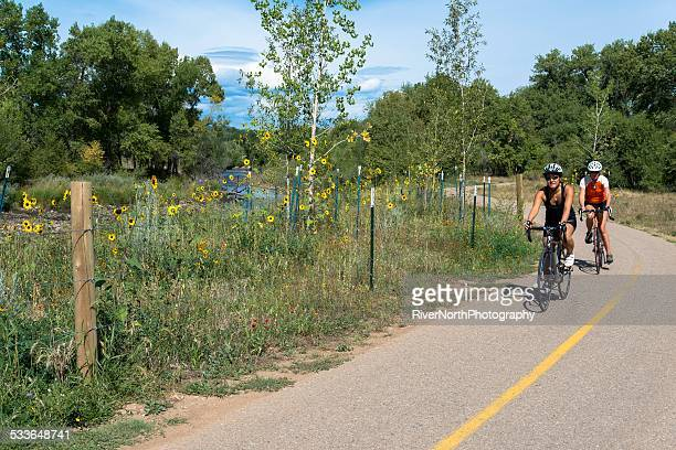poudre trail, fort collins - fort collins stock pictures, royalty-free photos & images