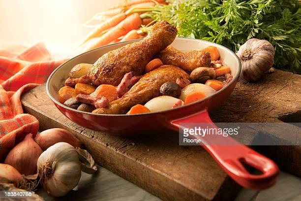 Poultry Stills: Coq au Vin