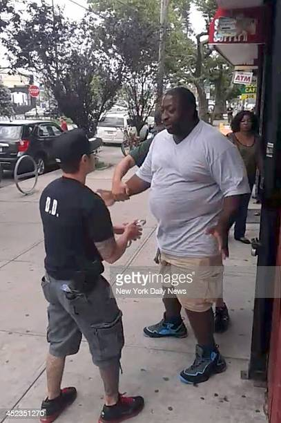 A 400 pound asthmatic Eric Garner died while being arrested by police in Staten Island