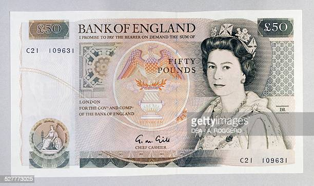 50 Pound Banknote Stock Pictures