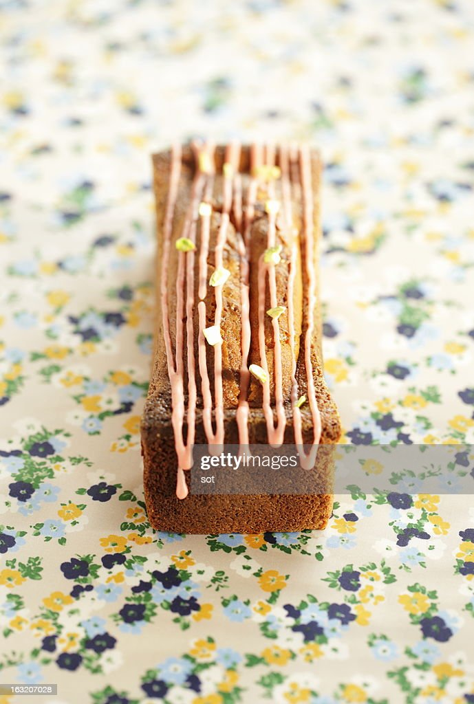 Pound cake : Stock Photo
