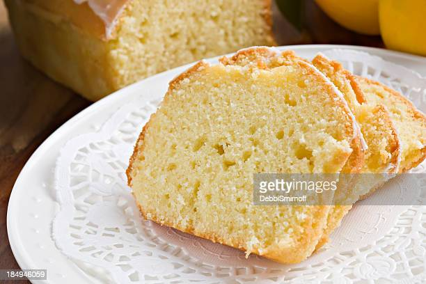pound cake - doily bildbanksfoton och bilder