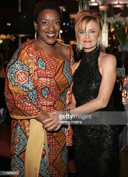 CCH Pounder and Swoosie Kurtz during 57th Annual Primetime Creative Arts EMMY Awards Governor's Ball at Shrine Auditorium in Los Angeles California...