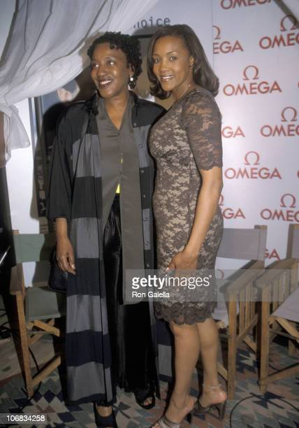 CCH Pounder and Vivica A Fox during CCH Pounder and Vivica A Fox Sighting at the Lemondair Hotel in Los Angeles April 15 1999 at Lemondair Hotel in...