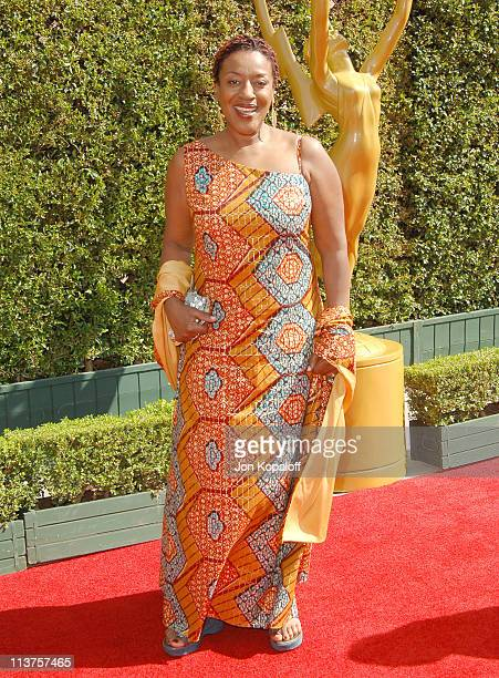 CCH Pounder during 57th Annual Primetime Creative Arts EMMY Awards Arrivals Red Carpet at Shrine Auditorium in Los Angeles California United States