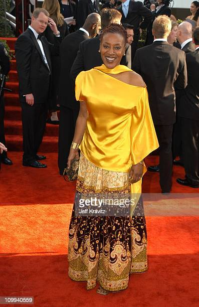CCH Pounder during The 60th Annual Golden Globe Awards Arrivals at Beverly Hilton Hotel in Beverly Hills CA United States