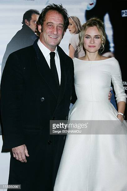 'Pour Elle' Premiere In Paris France On November 30 2008 Vincent Lindon and Diane Kruger