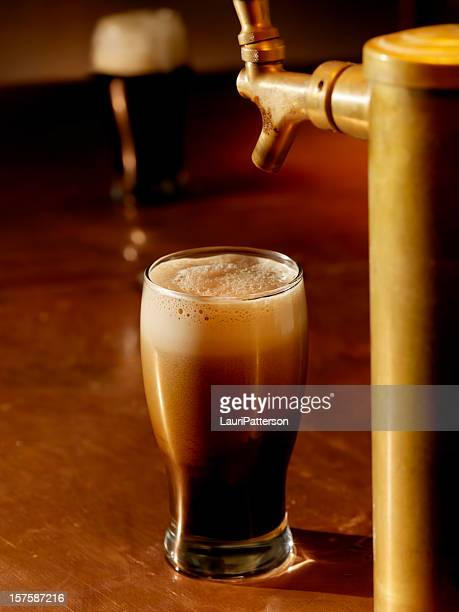 Pouring a Pint of Stout