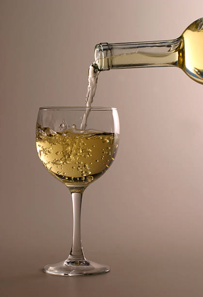 Pouring White Wine Wall Art