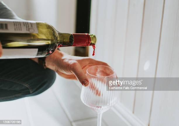 pouring wine - maroon stock pictures, royalty-free photos & images