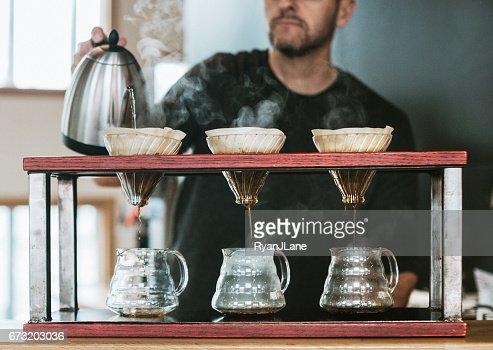 Pourover Coffee Preparation