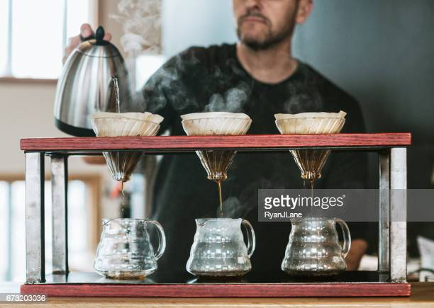 Pourover Coffee Preparation