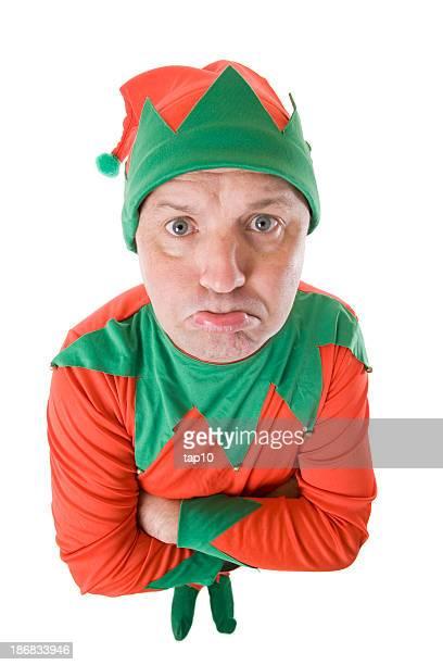 Pouting Elf