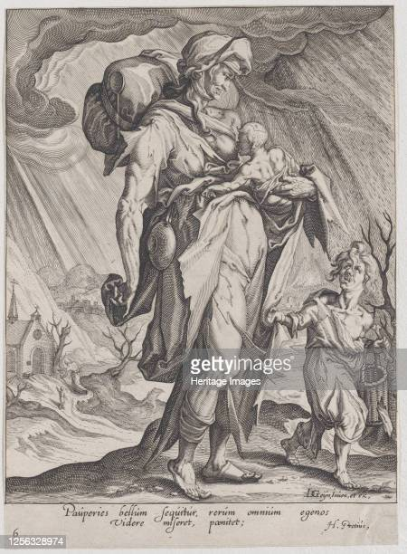 Poverty from Virtues and Vices 159697 Artist Zacharias Dolendo