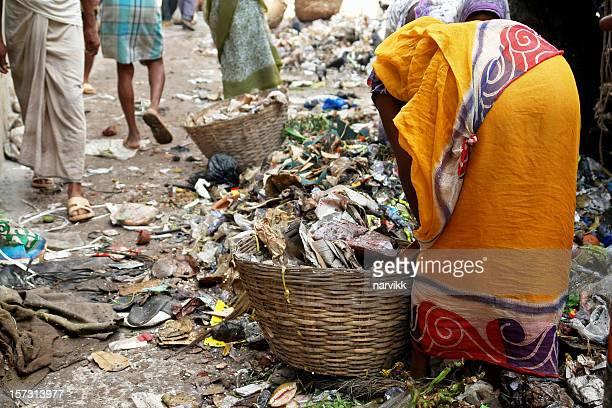 poverty - indian slums stock pictures, royalty-free photos & images