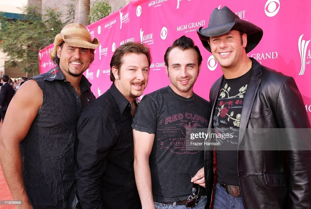 Povertyneck Hillbillies arrive at the 41st Annual Academy Of Country Music Awards held at the MGM Grand Garden Arena on May 23, 2006 in Las Vegas, Nevada.