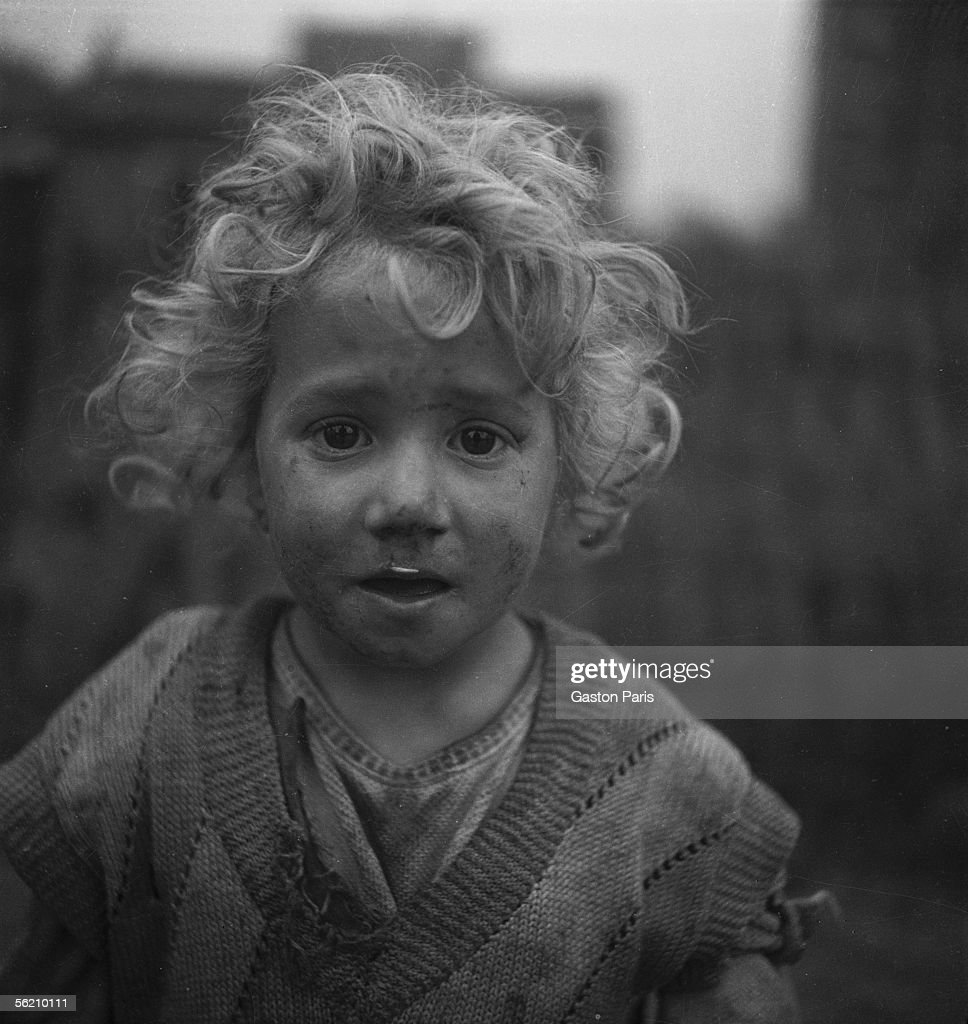 Poverty stricken child. France, about 20. News Photo   Getty Images
