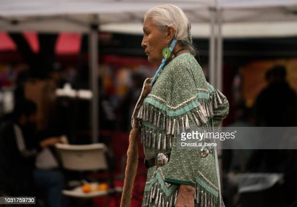 pow wow at oppenheimer park - first nations stock pictures, royalty-free photos & images