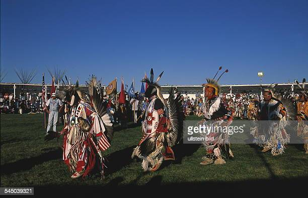 Pow Wow / Traditionelles IndianerFestival in Browning / Montana 1999