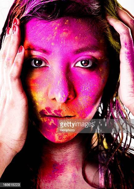 Powder Color Portrait