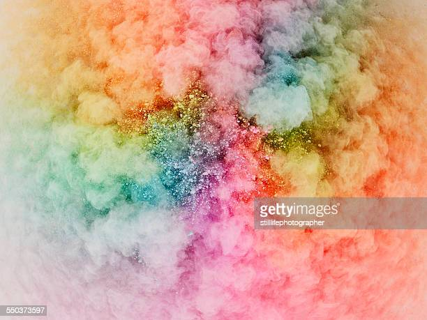 Powder explosion bursting