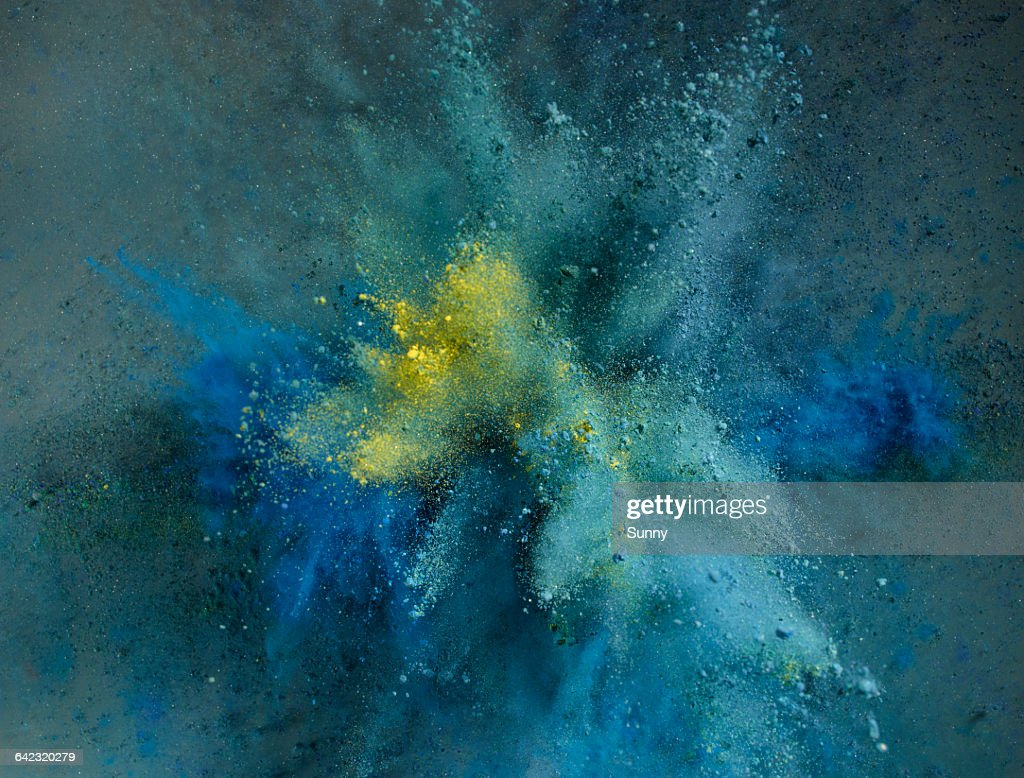 Powder Explosion : Foto stock
