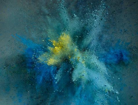 Powder Explosion - gettyimageskorea