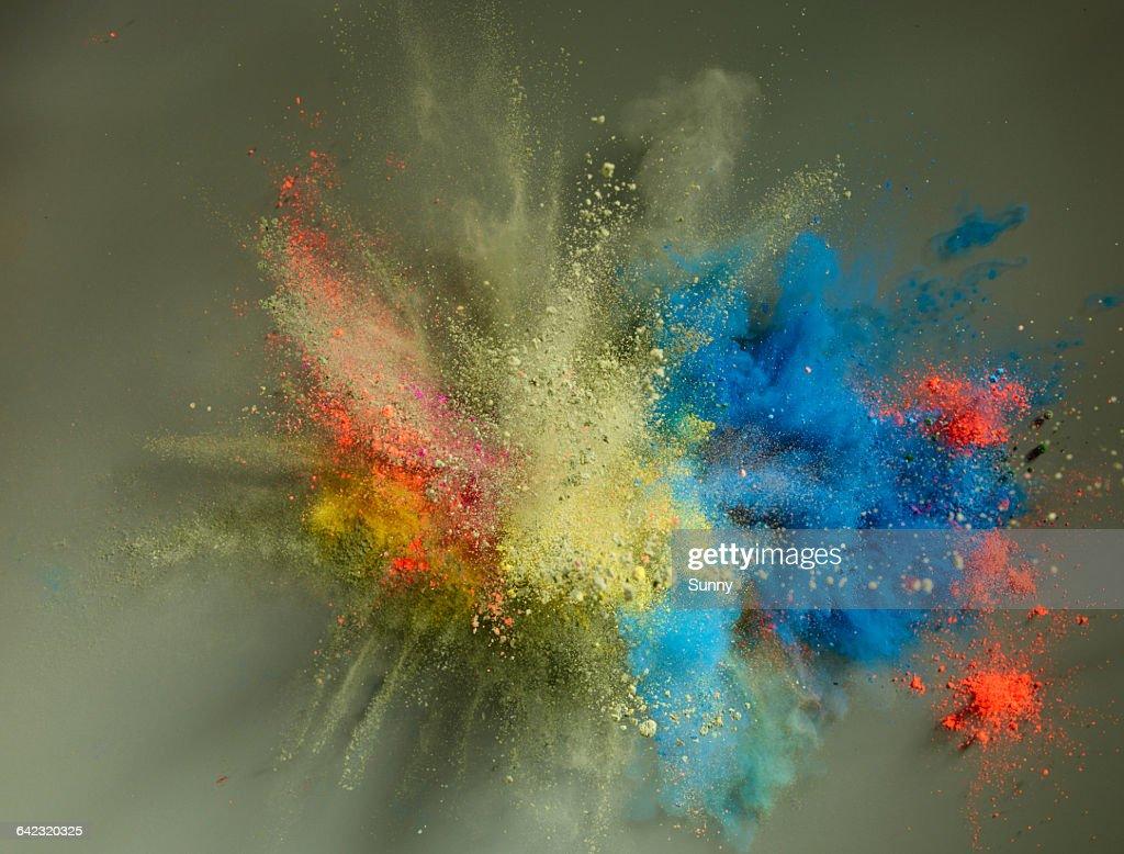 Powder Explosion : Stock Photo