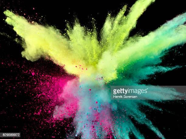 Powder explosion